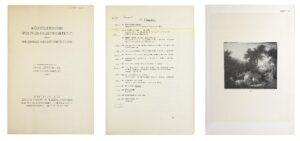 Abb. 4: Auszüge aus Katalog zur Versteigerung im Berliner Auktionshaus Edgar Joseph u. Rudolf Preuss am 21. und 22.10.1929
